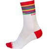 Endura Pinstripe Socks Men white